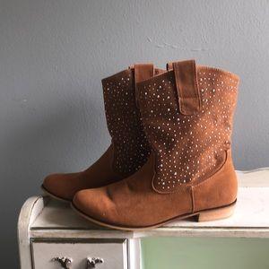 "Charming Charlie's  rhinestone boots ""Leanne"""